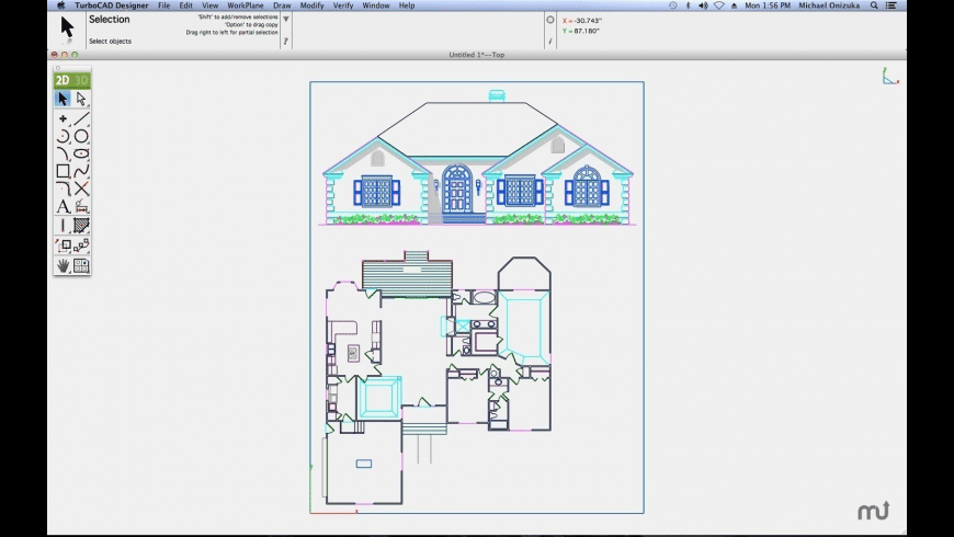 TurboCAD Mac Designer for Mac - review, screenshots