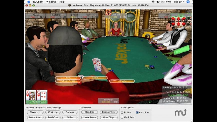 Live Poker for Mac - review, screenshots