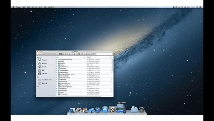 JustViewPicture for Mac - review, screenshots
