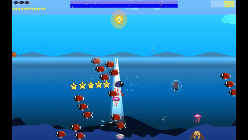 Tang's Starfish Rescue for Mac - review, screenshots