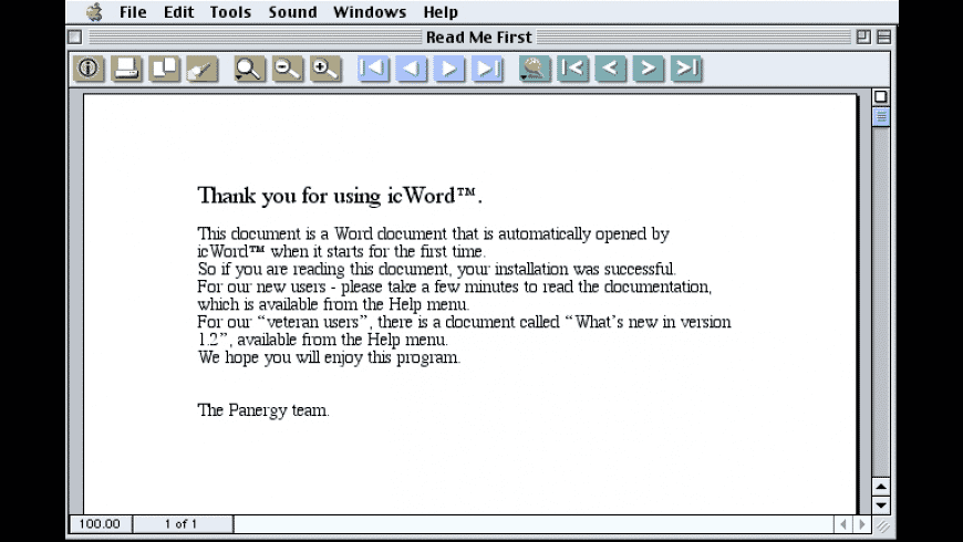 icWord for Mac - review, screenshots