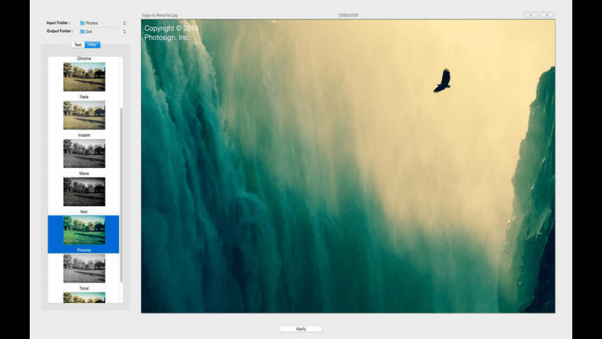 Photosign for Mac - review, screenshots
