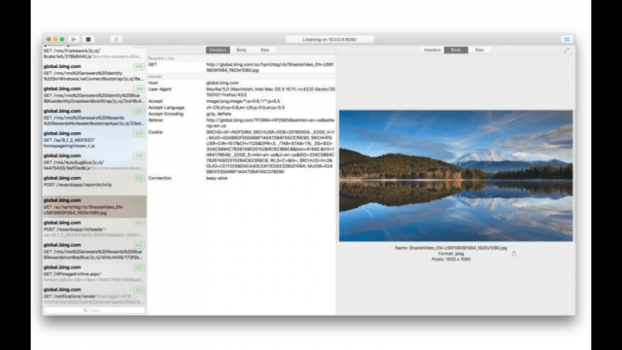 Captor for Mac - review, screenshots