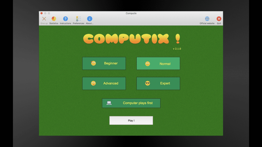Computix ! for Mac - review, screenshots