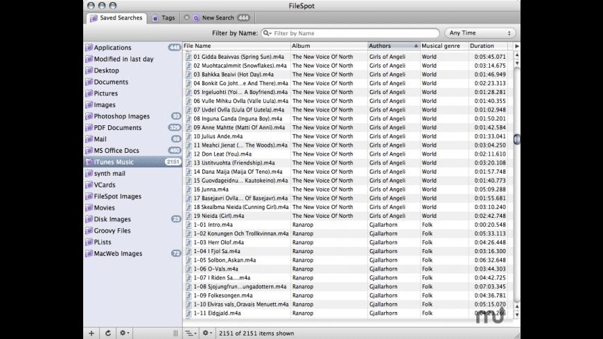 FileSpot for Mac - review, screenshots