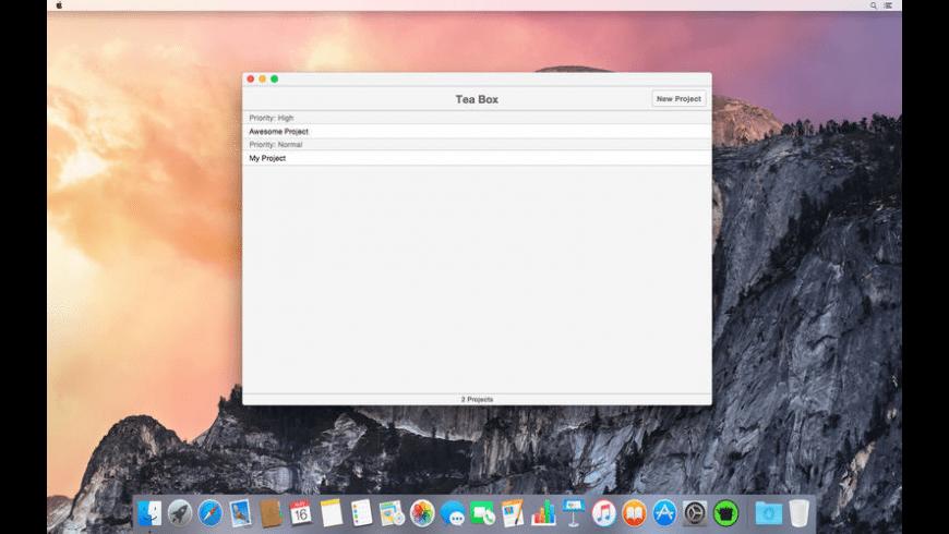 Tea Box for Mac - review, screenshots