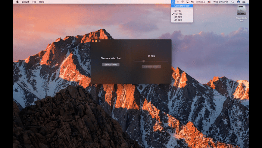 ZetGIF for Mac - review, screenshots