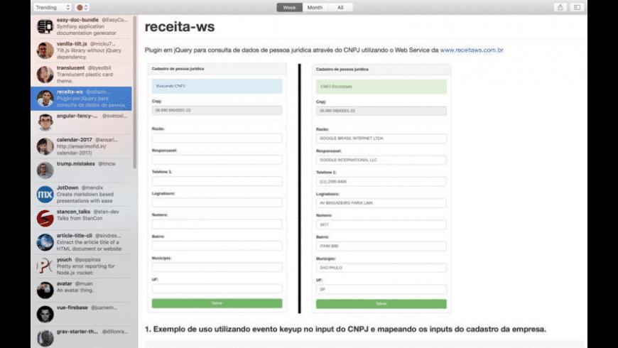 GitBot for Mac - review, screenshots