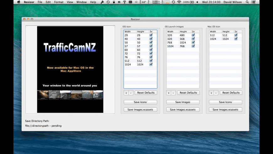 Resizor for Mac - review, screenshots
