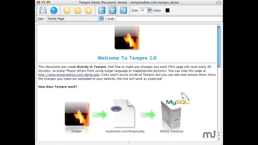 Tempre for Mac - review, screenshots