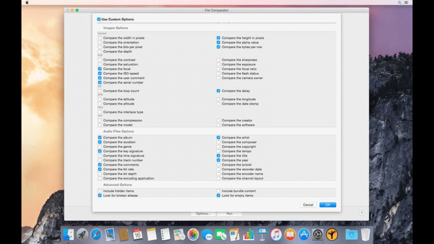 File Comparator for Mac - review, screenshots