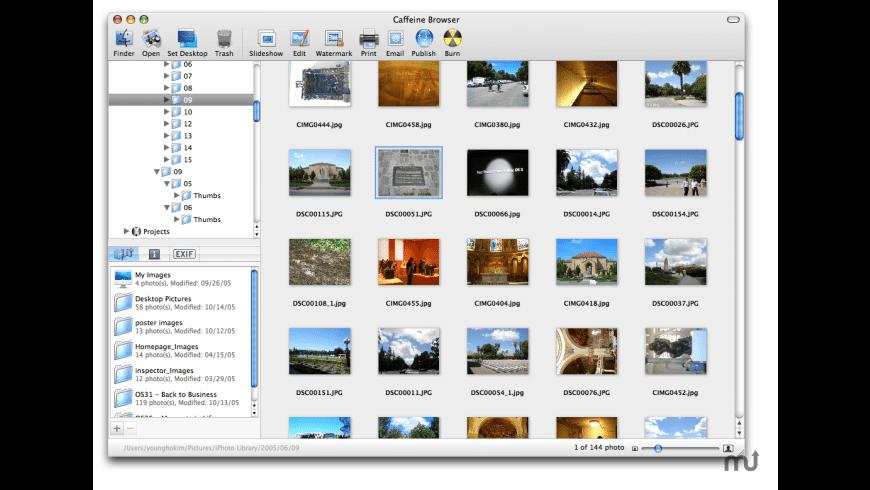 Caffeine Browser for Mac - review, screenshots