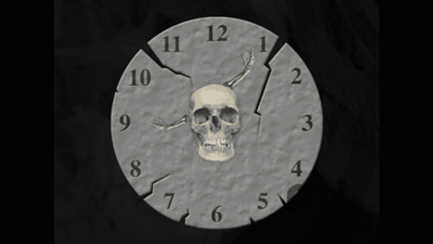 Halloween Clock for Mac - review, screenshots