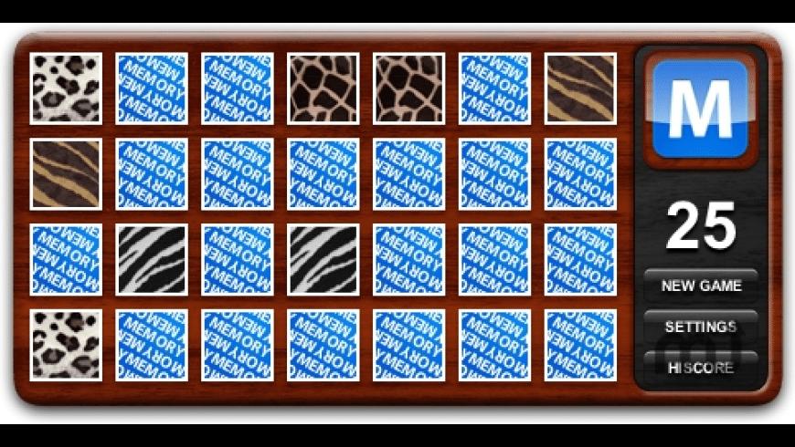 Memory for Mac - review, screenshots