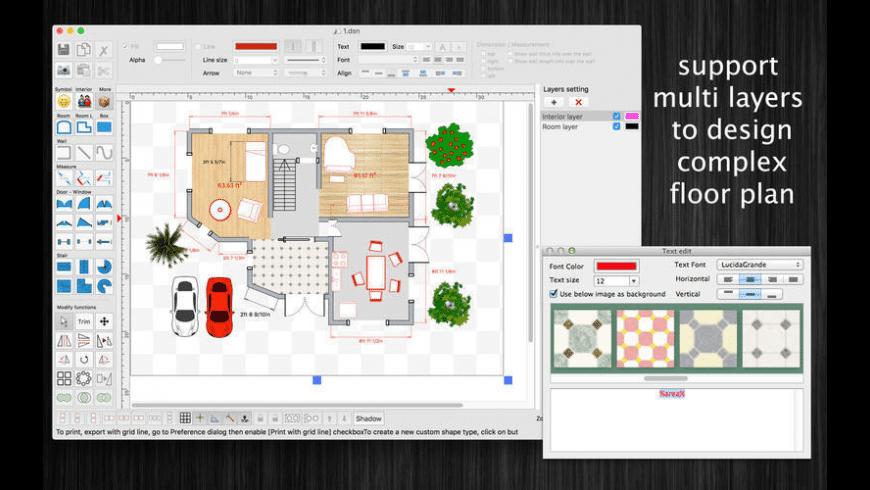 FloorDesign for Mac - review, screenshots