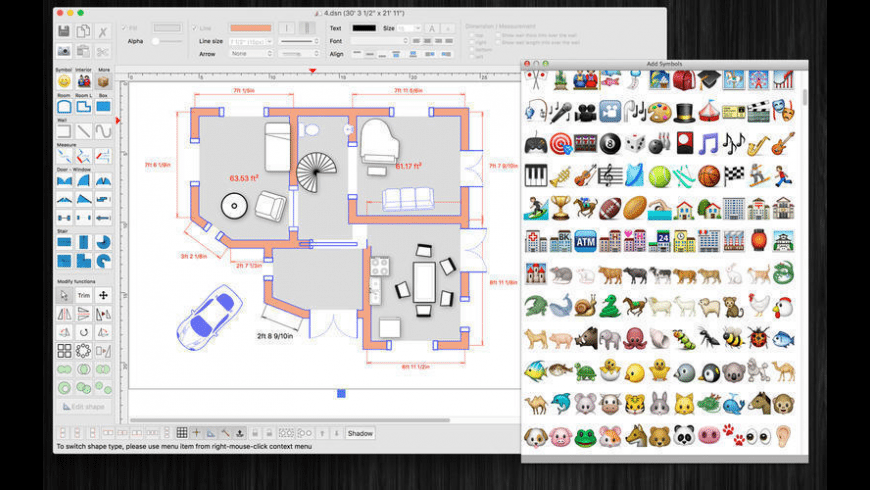 FloorDesign for Mac - review, screenshots