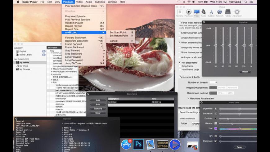Super Player for Mac - review, screenshots