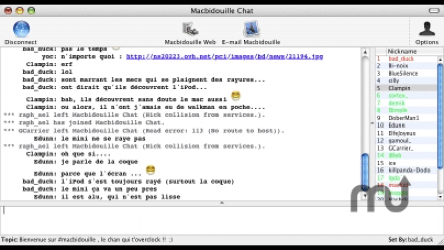 MacbidouilleChat for Mac - review, screenshots