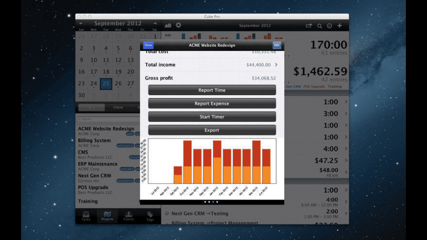 Cube Pro for Mac - review, screenshots