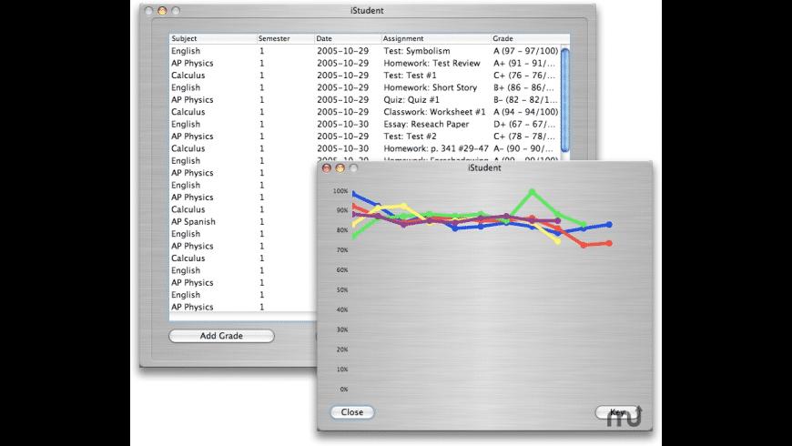 iStudent for Mac - review, screenshots