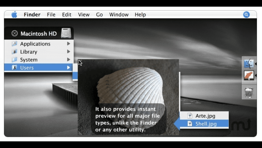 Filegazer for Mac - review, screenshots