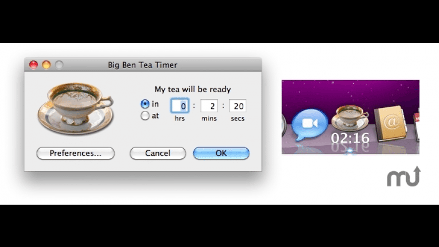 Big Ben Tea Timer for Mac - review, screenshots