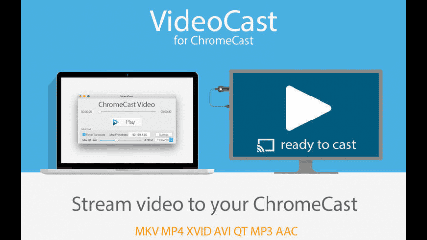 VideoCast for ChromeCast for Mac - review, screenshots