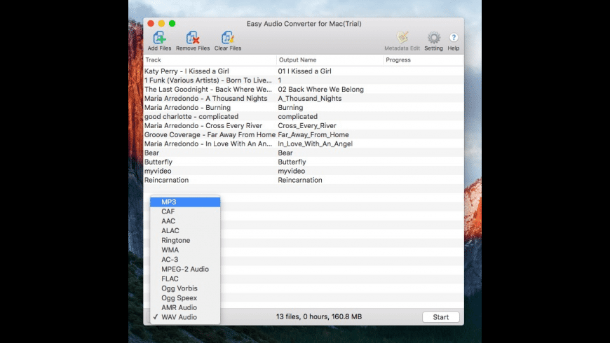 Easy Audio Converter for Mac - review, screenshots