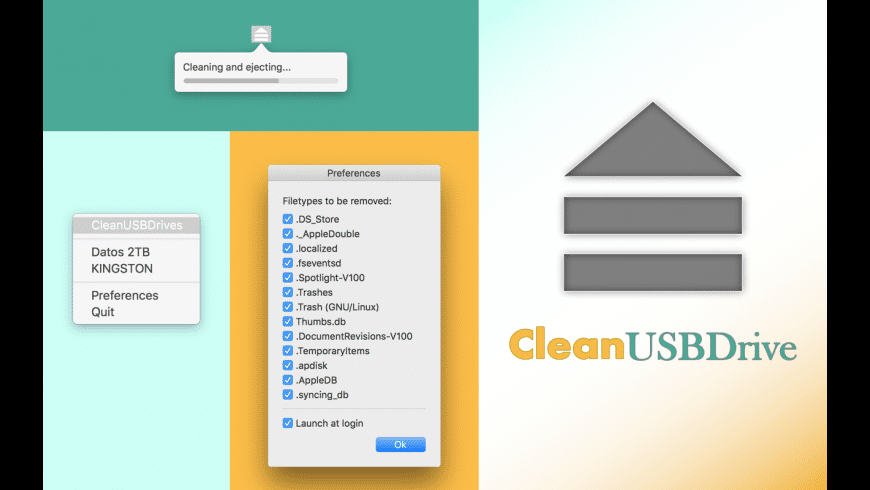 CleanUSBDrive for Mac - review, screenshots