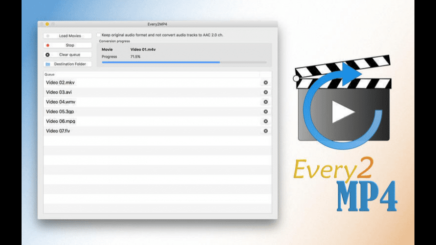 Every2MP4 for Mac - review, screenshots