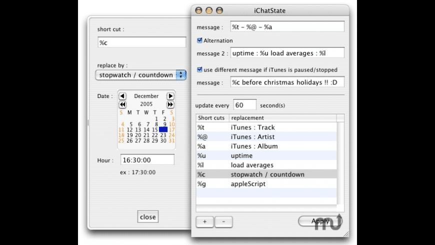 iChatState for Mac - review, screenshots