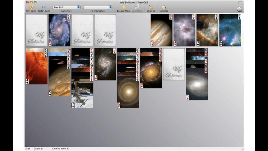 Wiz Solitaire for Mac - review, screenshots