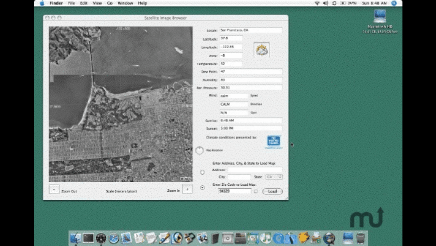 Satellite Image Browser for Mac - review, screenshots