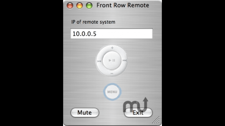 Front Row Remote for Mac - review, screenshots