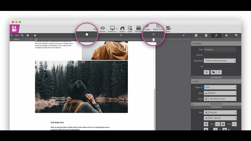 Bootstrap Builder for Mac - review, screenshots