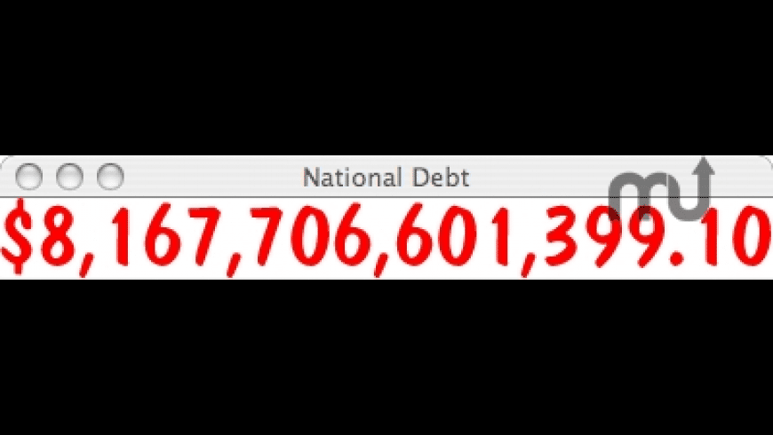 National Debt for Mac - review, screenshots