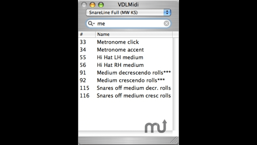 VDLMidi for Mac - review, screenshots