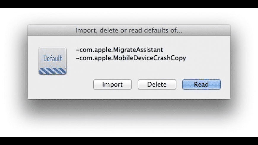 defaults for Mac - review, screenshots