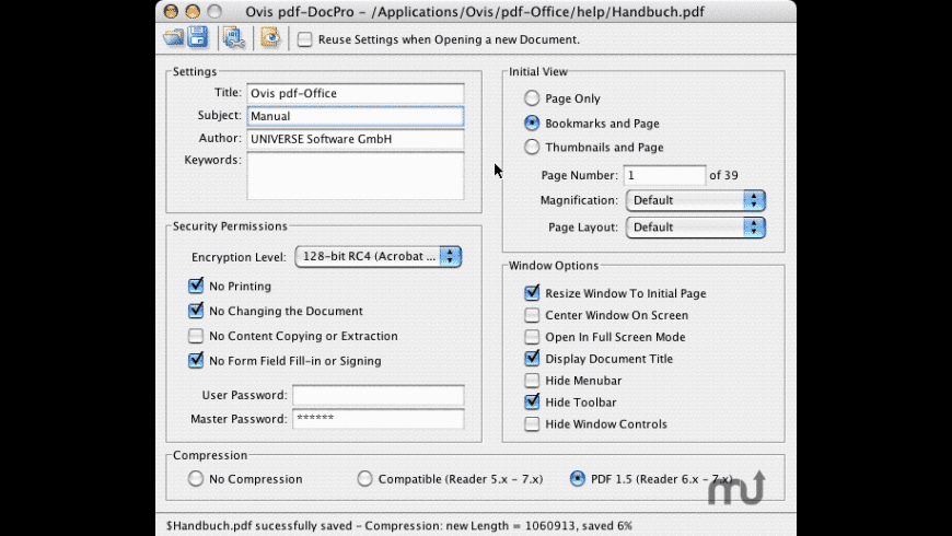 pdf-DocPro Server Edition for Mac - review, screenshots