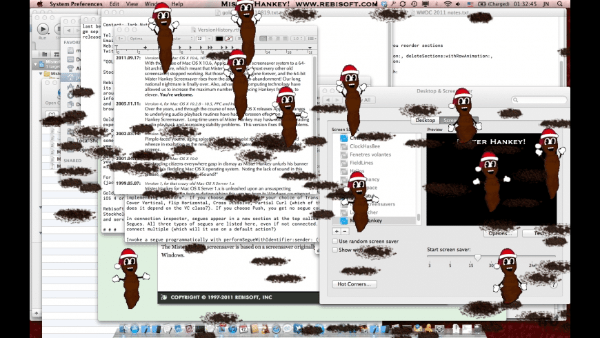 Mister Hankey Screensaver for Mac - review, screenshots
