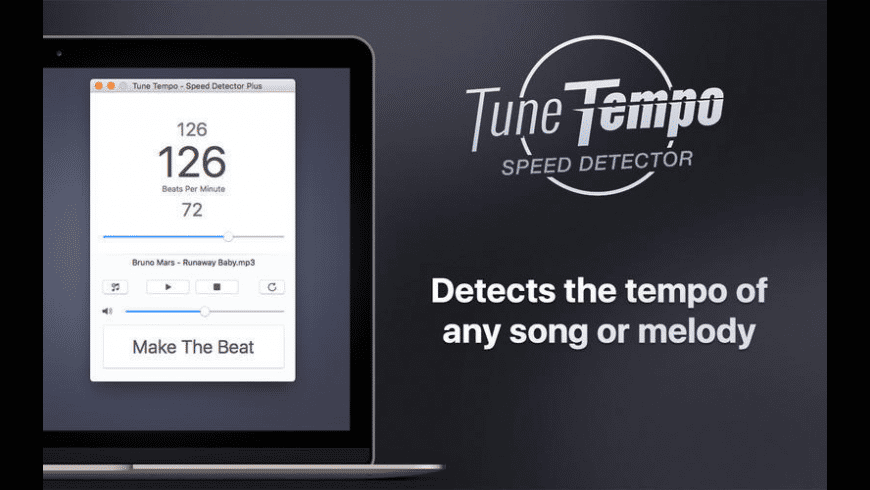 Tune Tempo for Mac - review, screenshots