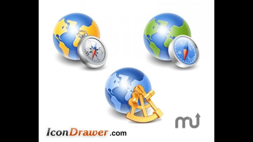 Globe Icons for Mac - review, screenshots