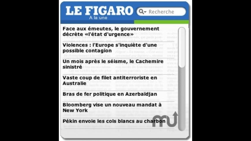 Le Figaro for Mac - review, screenshots