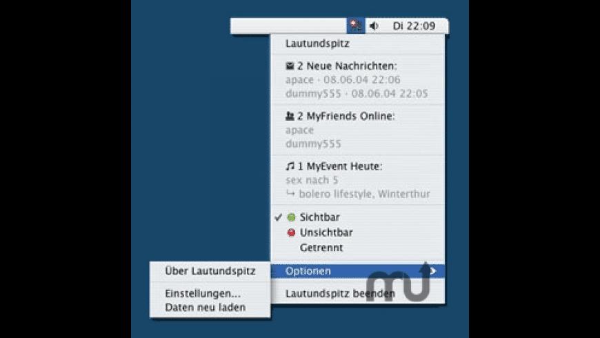 Lautundspitz Desktop Client for Mac - review, screenshots