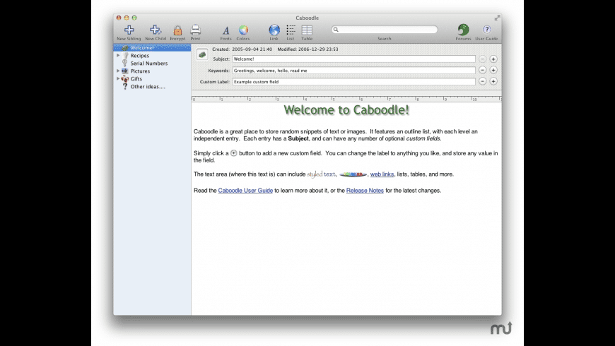 Caboodle Household License for Mac - review, screenshots