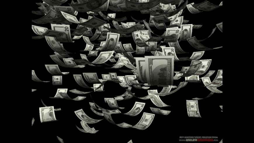 Moolah: 3D Money Screen Saver for Mac - review, screenshots
