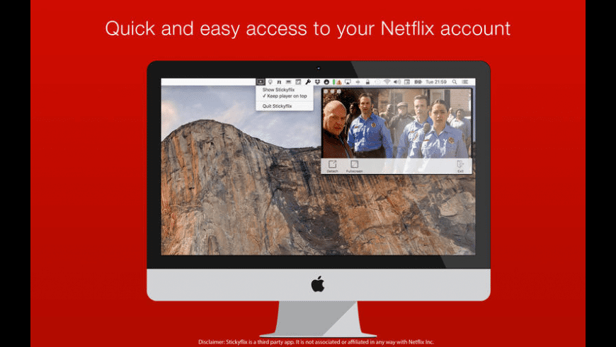 Stickyflix for Mac - review, screenshots