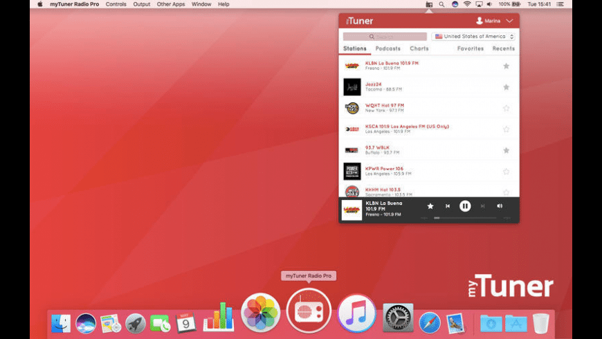 myTuner Radio Pro for Mac - review, screenshots