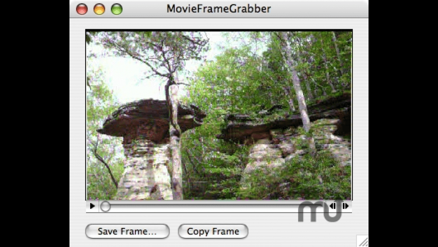 MovieFrameGrabber for Mac - review, screenshots