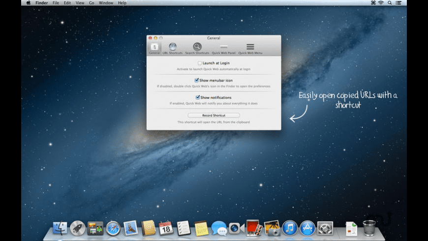 Quick Web for Mac - review, screenshots